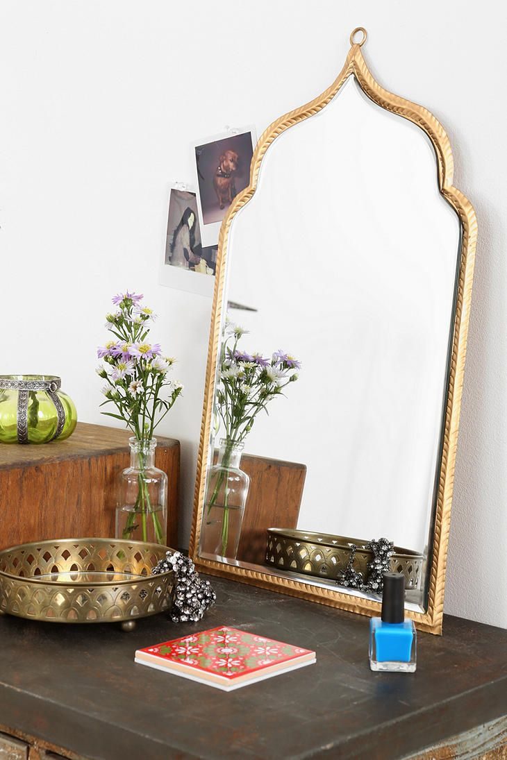 via Urban Outfitters: Taj Wall Mirror #smallspace #pinaroomwinaroom