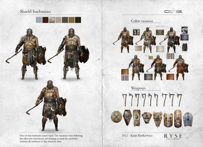 Ryse_Concept_Art_KR_Shield_Barbarian