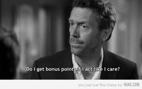 Oh Dr. House...