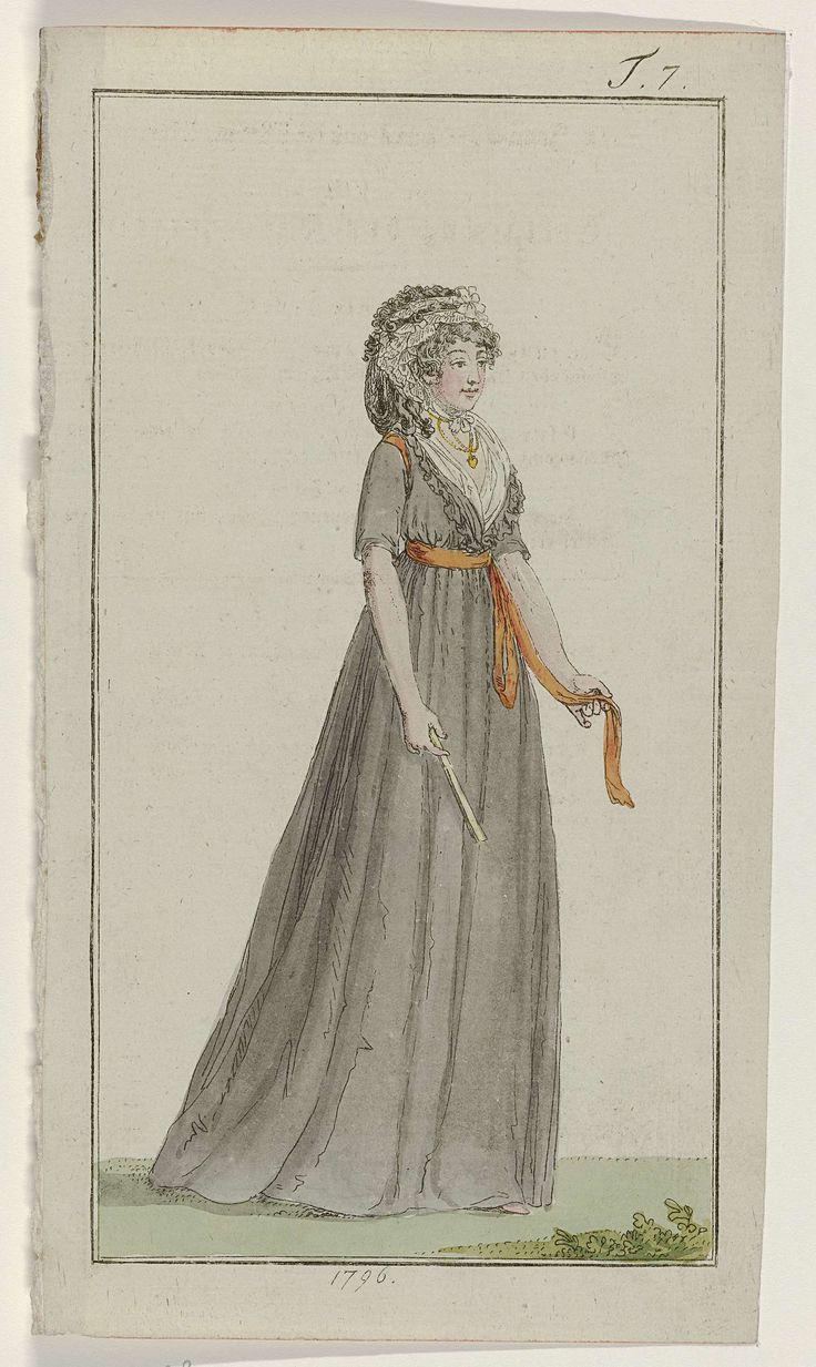 Journal des Luxus und der Moden, 1796, T 7, Georg Melchior Kraus, 1796