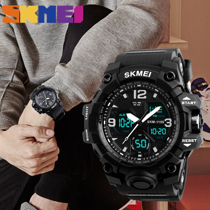 sale 2017 new trendy sports watches mens brand luxury mens analog quartz digital led electronic watch #trendy #watches