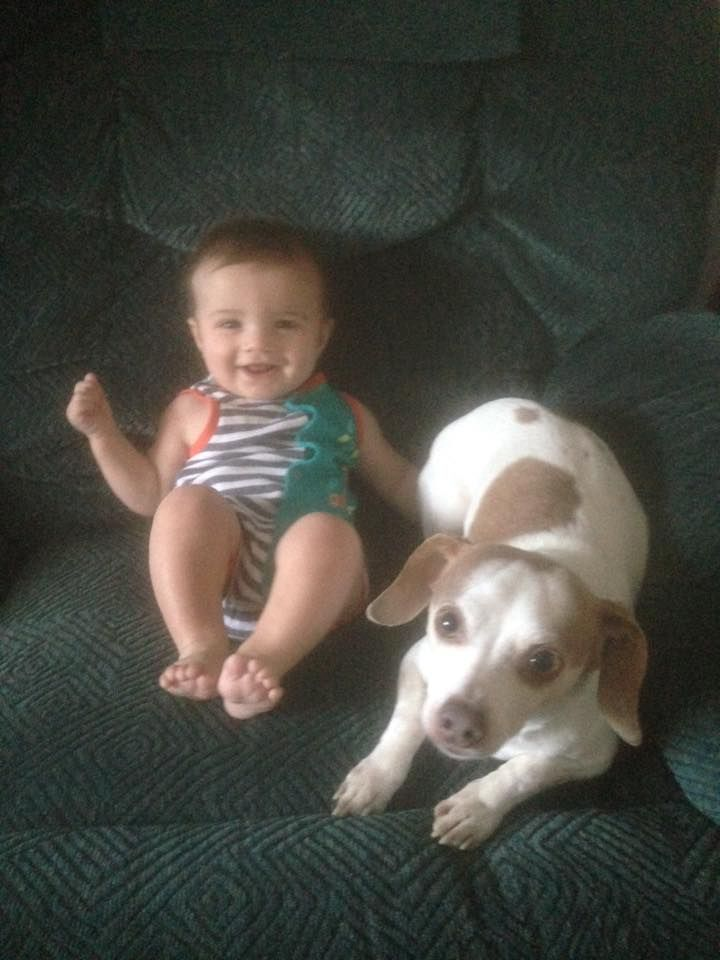 Lachlan and his buddy Duke