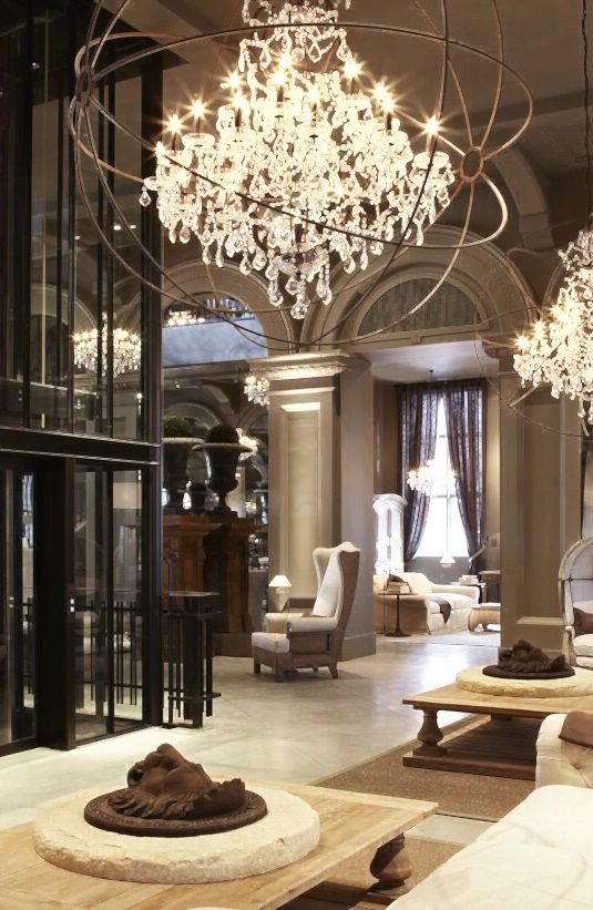 550 Best Images About Interior Design/Chandeliers On Pinterest | 5
