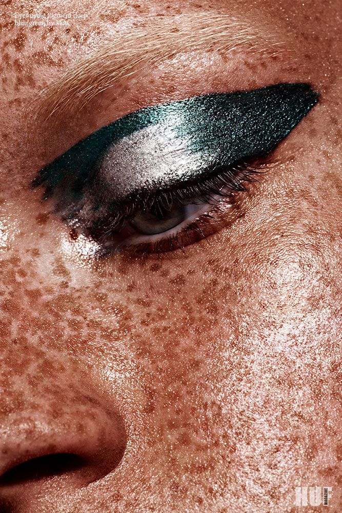 Magazine: HUF Beauty Story: The Very Very Photographer: Christine Lutz (www.christine-lutz.de) Model: Nicola Florence @ Model Management Hair and makeup: Frauke Bergemann-Gorski (www.bergemann-gorski.com) Amazing freckles!