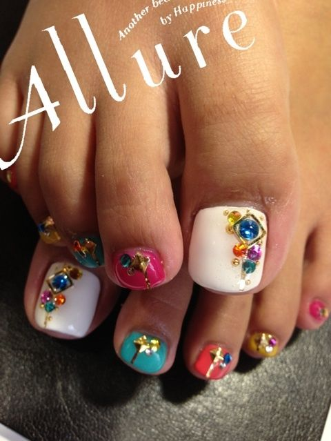 """I'll call this """"The Embellished Toe Cuffs""""-----repinned by acb"""