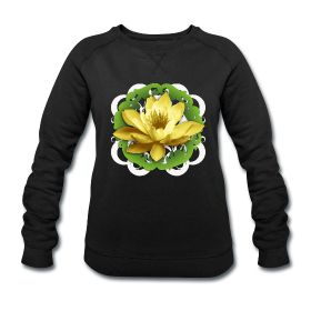 """#Buddhist shirt for woman with lotus flower of CD """"Il Canto del Sutra del Loto"""": http://myo-mood.spreadshirt.it/il-canto-del-sutra-del-loto-donna-felpa-A100261047/customize/color/2 #buddhism #tshirt"""