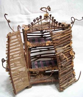 make fairy furniture | ... Art: Class this Saturday....making beautiful Fairy Furniture                                                                                                                                                                                 More