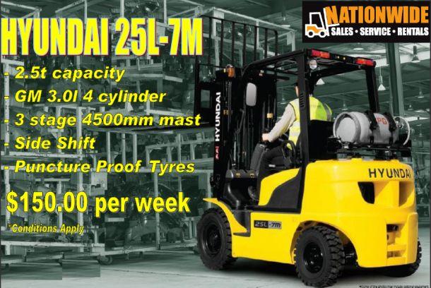 Hyundai Forklift 2.5T