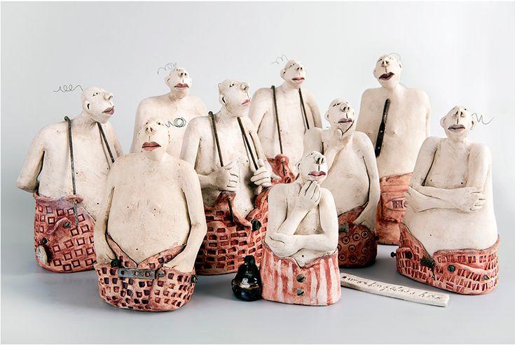 Ans Vink – De workingclass hero's / sculptures figuratives (Pays-bas)