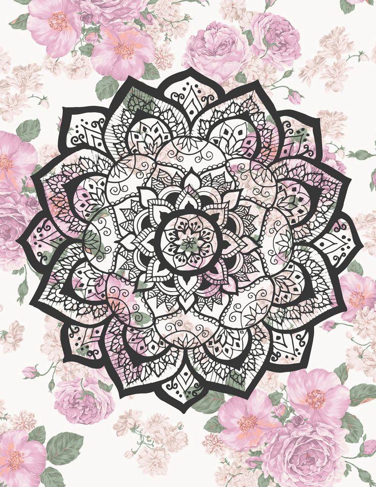 Mandala Flower by Fla Braun