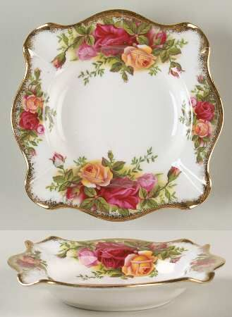 "Royal Albert Old Country Roses 4"" Ashtray"