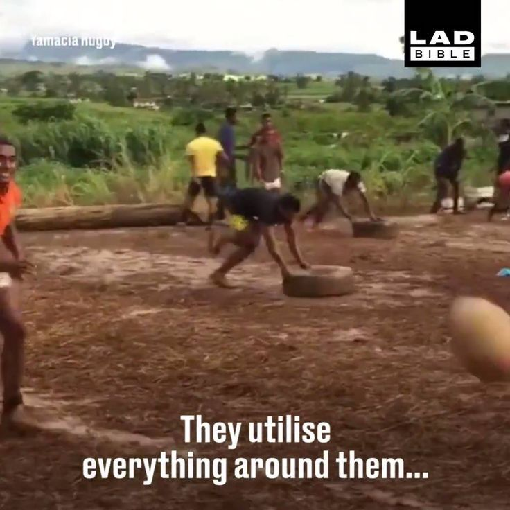 Despite no funds, this Fijian rugby team are absolutely killing it!
