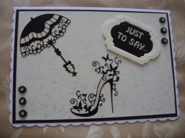 The shoe is from tattered lace. The parsol is from Marianne and the sentiment is labels twenty-eight from spellbinders