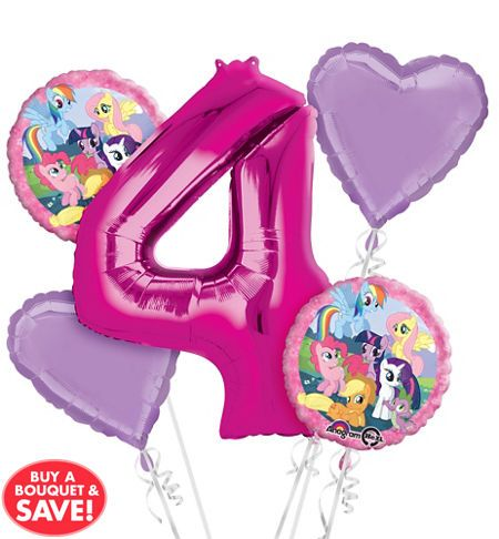 My Little Pony Balloons - Party City call them to change the number