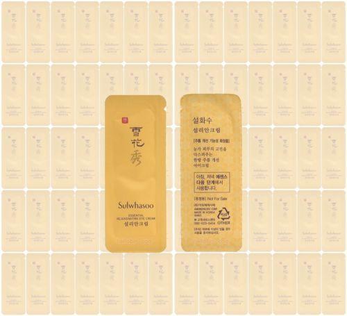 Sulwhasoo Rejuvenating Eye Cream Amore Pacific Korean Cosmetics Sample 50pcs ★☆