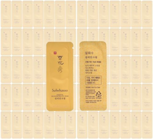 Sulwhasoo Rejuvenating Eye Cream Amore Pacific Korean Cosmetics Sample 50pcs ★☆