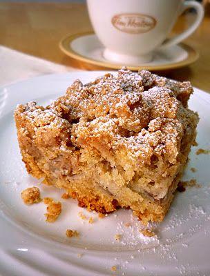 Apple Crumb Coffee Cake Recipe (Food Wanderings in Asia)