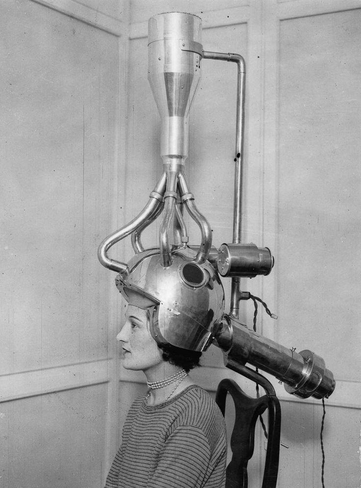 Фены для волос начала-середины 20-го века