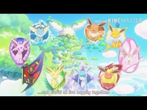 Pokemon Amv Eevee Evolutions AMV Really Don't Care