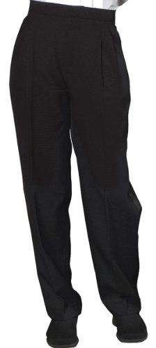 Ed Garments Women's Tuxedo Pleated Pant -- Click image for more details.