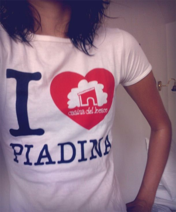 I Love Piadina, bellissima t-shirt
