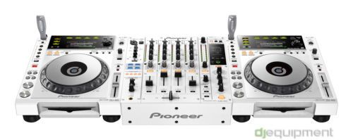 devo ingaggiare Paul #Kalkbrenner per sfruttarla #Consolle DJ #Pioneer 2 x CDJ 850 W + DJM 850 W - 850 White Pack - Limited Edition