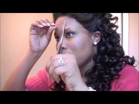 HOW TO CUT & WEAR LACE FRONT WIG