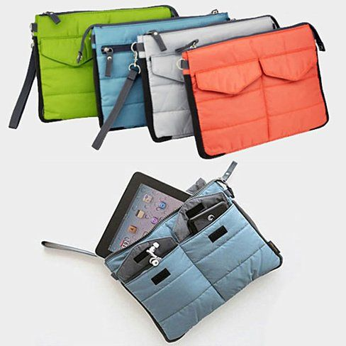 What a fantastic idea of a handbag organizer insert that can be switched from handbag to handbag,  as many times as you want..