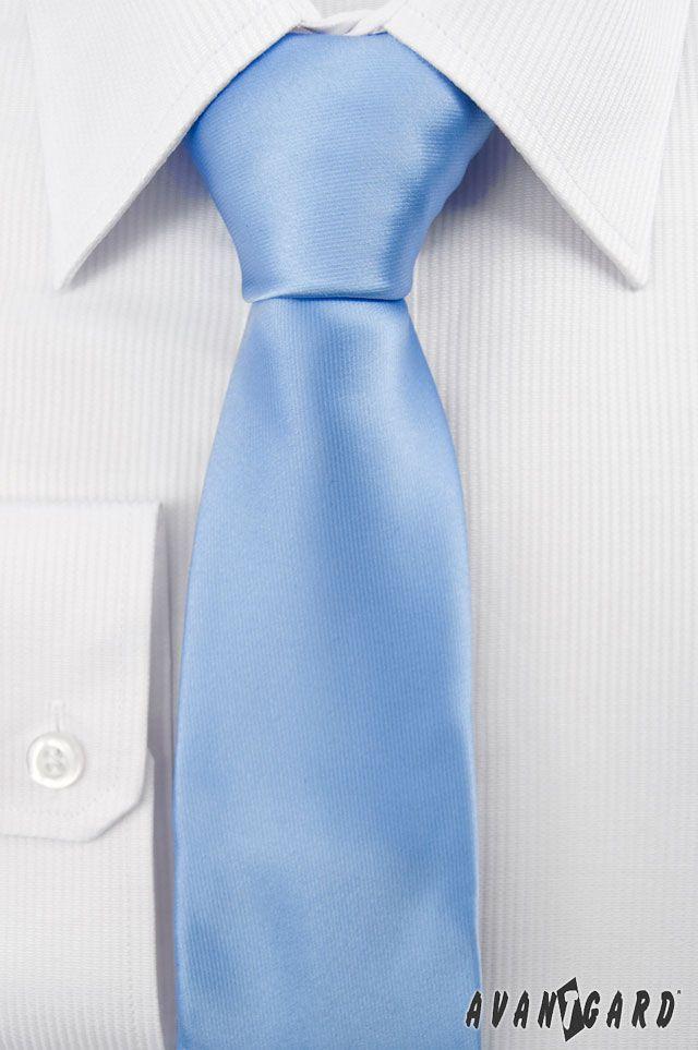 Modrá kravata Avantgard. Duhové kravaty značky Avantgard / Rainbow inspiration,  colours, Avantgard, ties, mens accessories, mens fashion, tie, light, blue