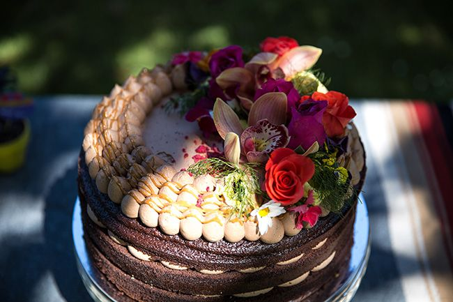Fiesta wedding cake // Skinny Love Weddings // Fiesta de Amor //