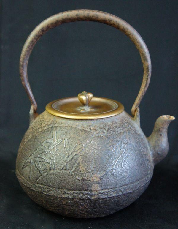 Teiera giapponese per cerimonia del tè 1850
