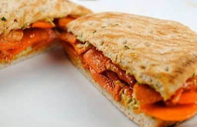 Moroccan Carrot Sandwich | Fat Girl Trapped in a Skinny Body