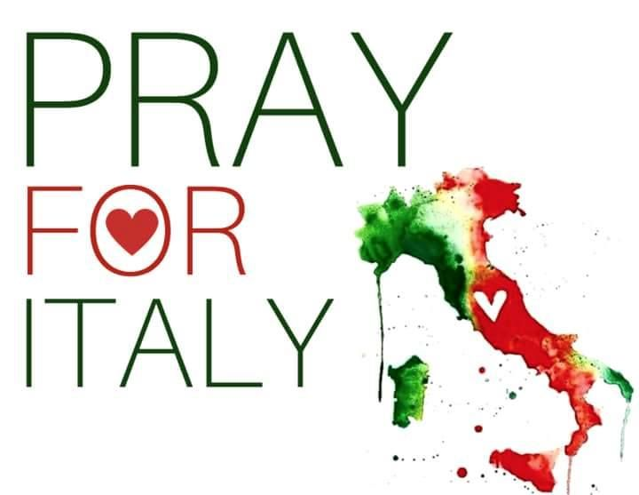 #PrayForItaly