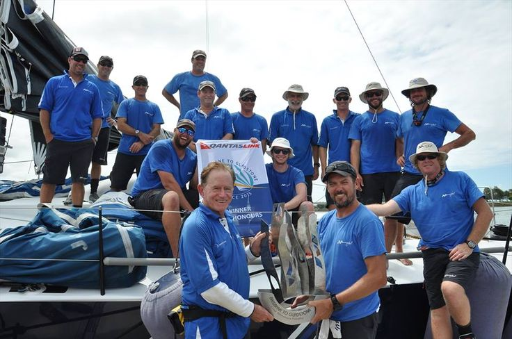The Brisbane to Gladstone Yacht held every year starts from Shorncliffe in Moreton Bay