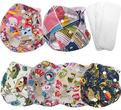 $4.99 - cloth diapers,tiny tush diapers