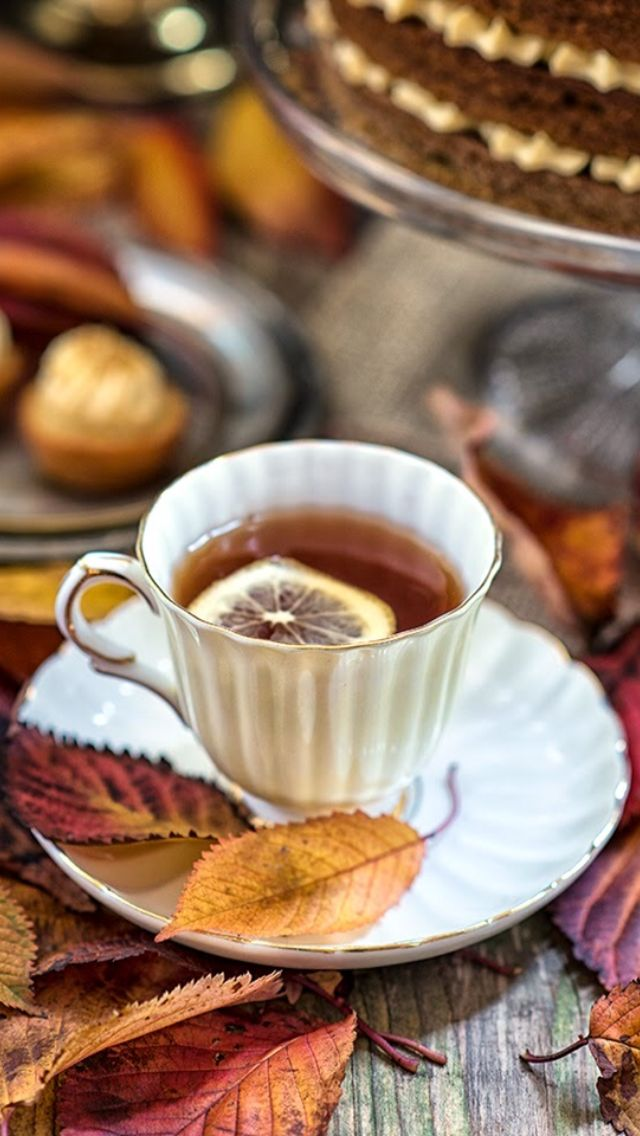 Autumn Tea                                                       …