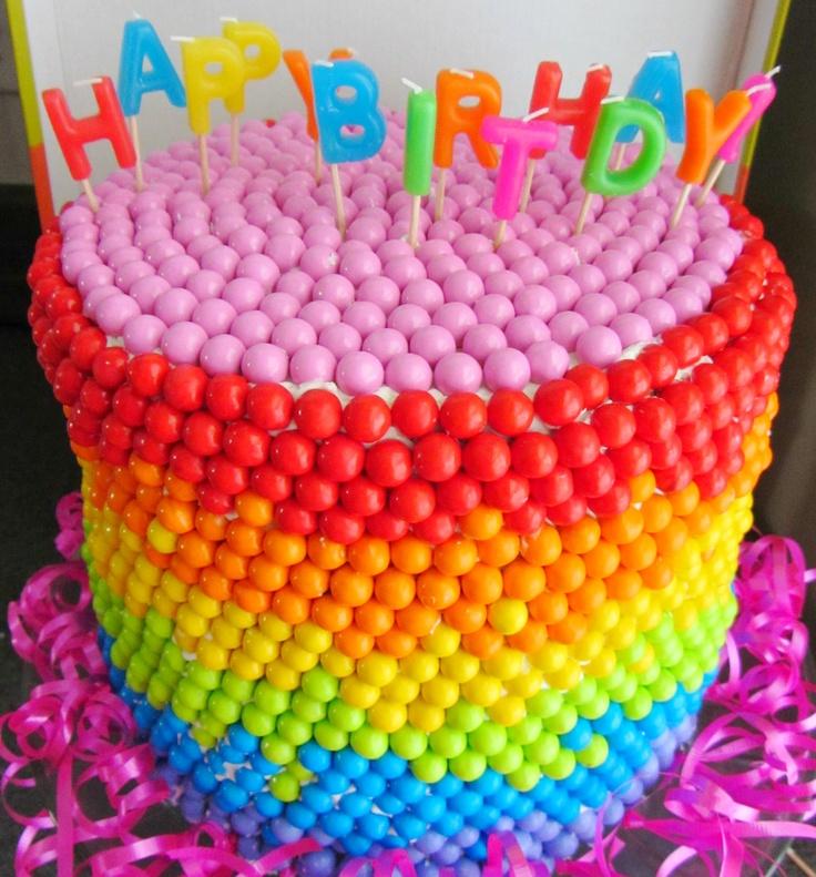 373 best Rainbow Birthday Party images on Pinterest Birthday