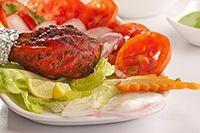 Pollo Tandoori con Ensalada Receta