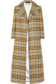 Emilia WicksteadRaphael plaid wool coat