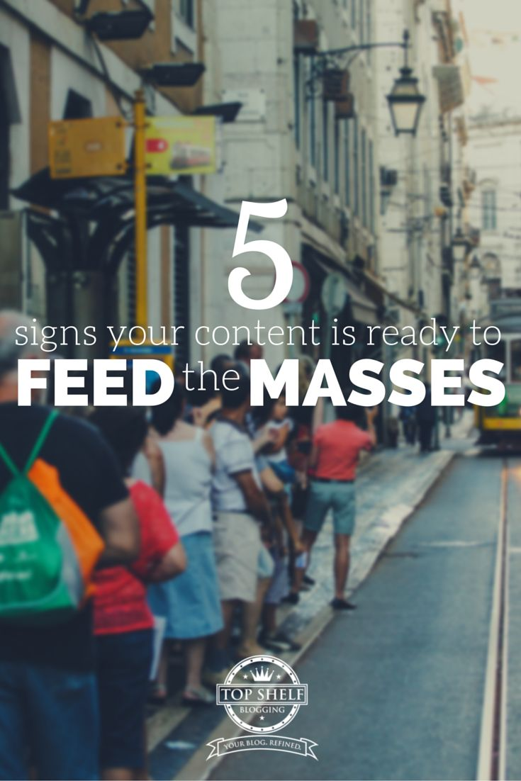Here are 5 critical ways I found to make your blog content more consumable for your audience. SWEET!