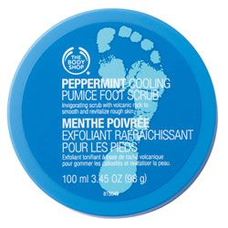 @Metropolisatmet Peppermint Cooling Pumice Foot Scrub from The Body Shop #Findwhatyoulove