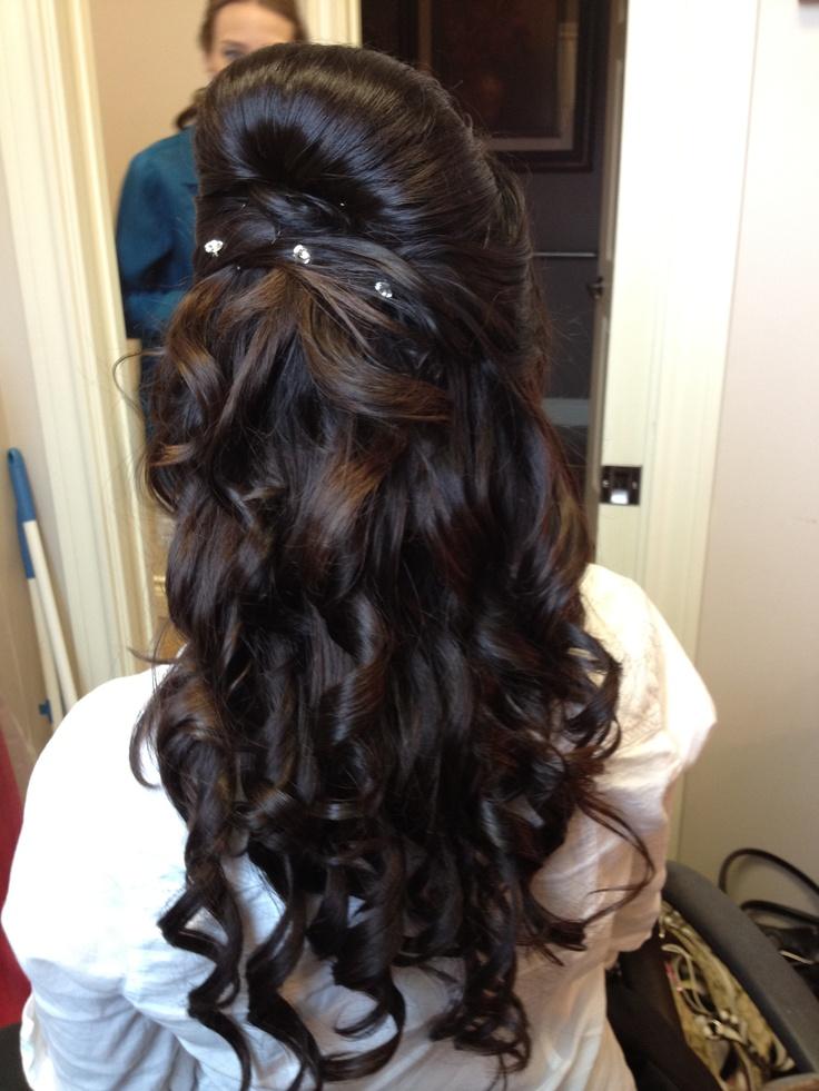 Bridal Up Do Half Up Beauty Pinterest Hair