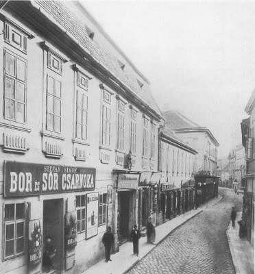 1895. Váci (Lipót) utca