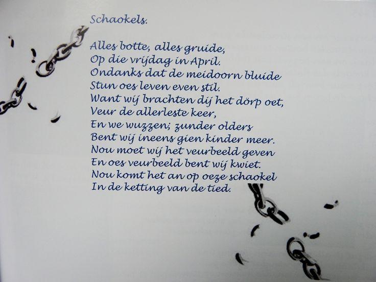 Schakels.....in het dialect