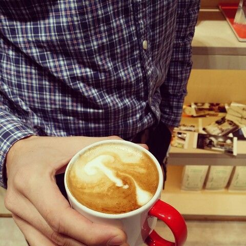 Mushroom Latte Art!