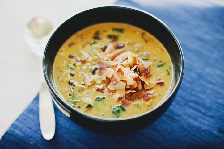 SPICED LENTIL SOUP WITH COCONUT MILK - SPROUTED KITCHEN - A Tastier Take on Whole Foods