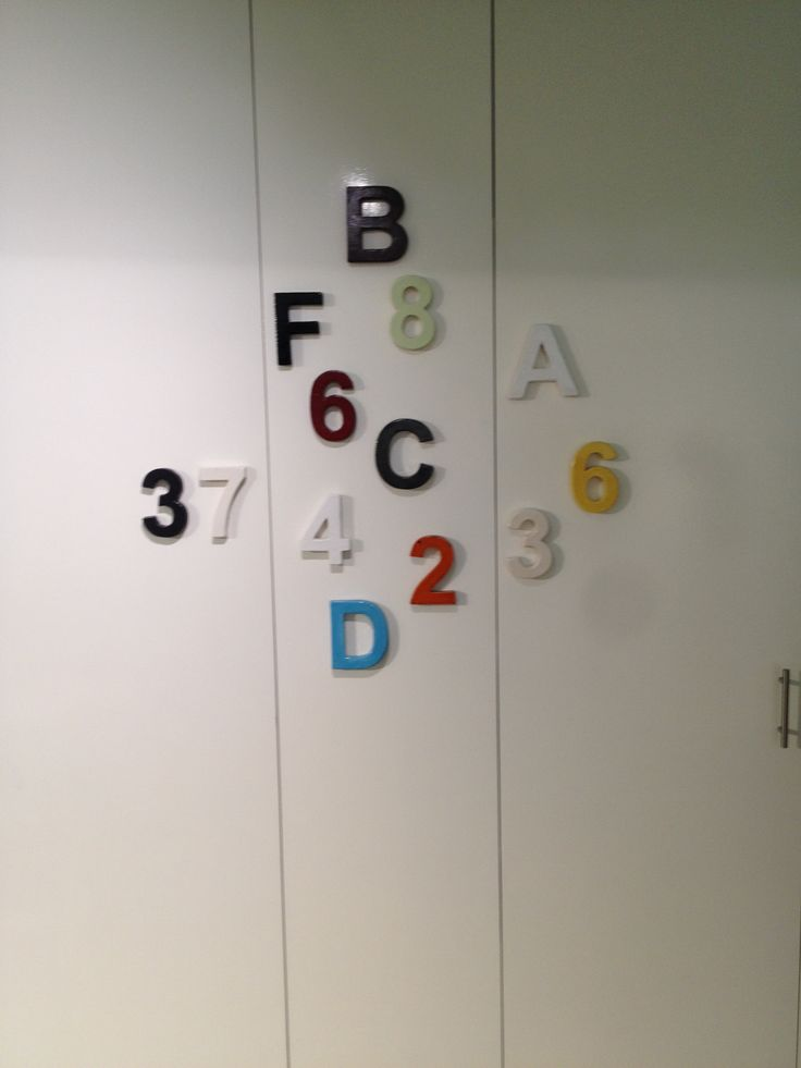 robert plumb house numbers & letters