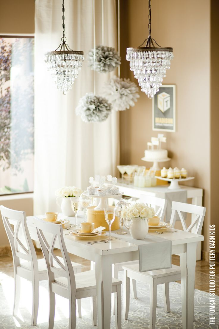 So sweet - I am truly loving yellow right now and Tomkat Studio's know how to style a party.