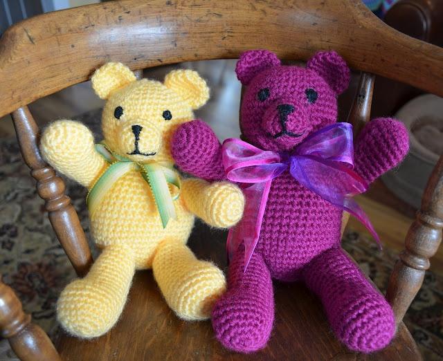 Jiffy Bear ☺ Free Crochet Pattern ☺