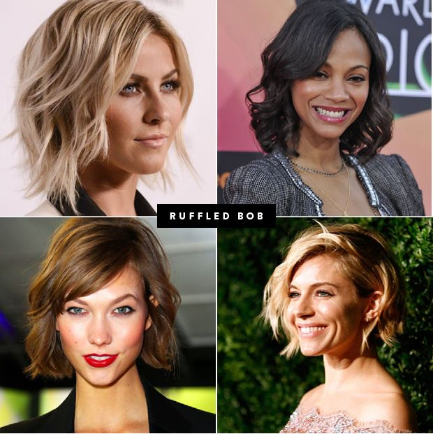 haircut inspiration, haircuts to suit your face shape, oval face, round face, hair types, square shaped face, heart shaped face, choppy bobs, blunt cut, wavy hair, straight hair, pixie cut, 70s bangs, side bangs, sideswept bangs, the right haircut for your hair type, choppy bob